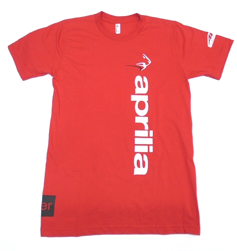 AF1 Racing T-Shirt Aprilia Vertical