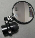 AF1 Racing CRG Hindsight Mirror Kit, Black RH Side