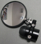 AF1 Racing CRG Hindsight Mirror Kit, Black LH Side