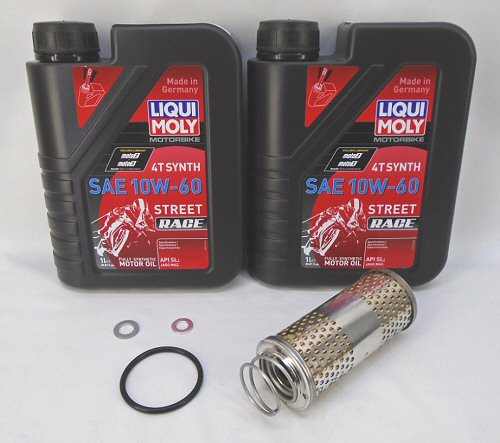 AF1 Liqui-Moly Oil Change Kit For Moto Guzzi V85's