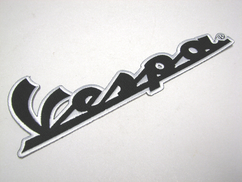 Vespa Patch 8.5 x 3 Inches