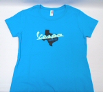 Vespa Austin T-Shirt, Blue, Women's