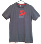 Akrapovic Screen Printed T-Shirt, Grey
