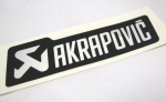 Akrapovic MonoChromatic Decal 5 x 1.5