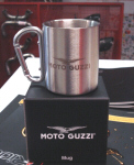 Moto Guzzi Stainless Steel Coffee Mug