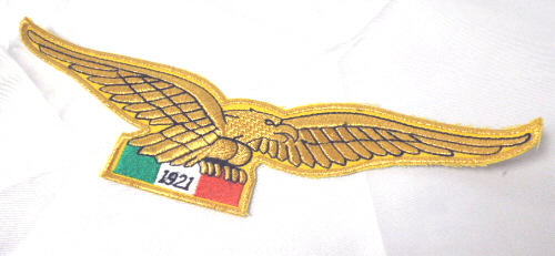 Moto Guzzi Eagle Patch Gold
