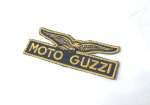 Moto Guzzi Eagle Patch Gold, Small