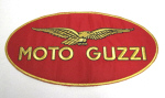 Large Moto Guzzi Patch 9.75 x 5 inches