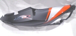 OEM Aprilia RH Rear Fairing, Black - AP8268865