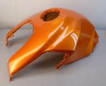 Used Fuel Tank Cover, Orange for '07-'10 Shiver750