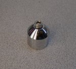 Used Moto Guzzi Bar End Weight, Chrome