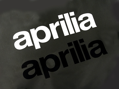 Aprilia Vinyl Decals- 2 pack