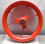 OEM Aprilia Cast Al Front Wheel, Red - 2B002105