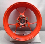 OEM Aprilia Cast Alu Rear Wheel, Red - 2B002118