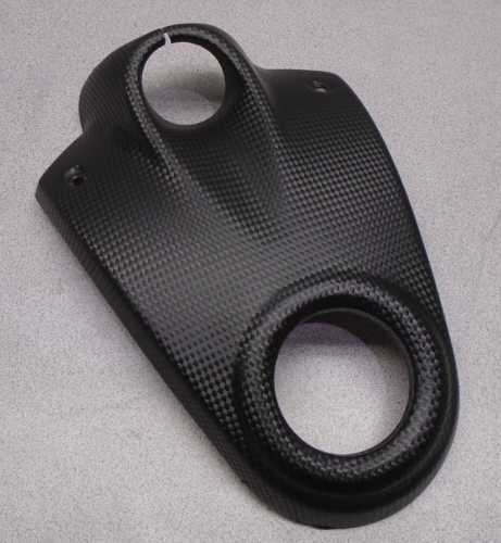 Used Carbon Texture Gas Cap Surround Cover