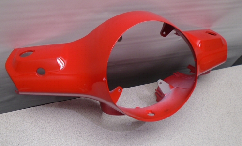 Used Front Handlebar Cover, Red for LX 50 / LX 150