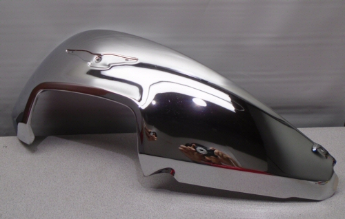 Used LH Side Tank Cover, Chrome for Cali 1400's