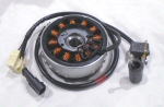 OEM Piaggio Stator and Flywheel Assembly - B018107