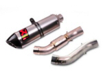 Akrapovic Slip-On Exhaust For V4 -TI Can -B043764
