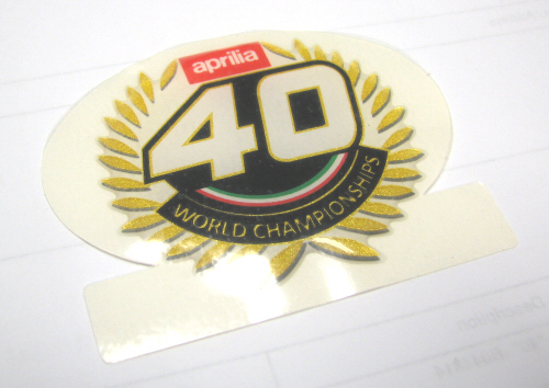 "Decal World Champions ""40"" -B044814"