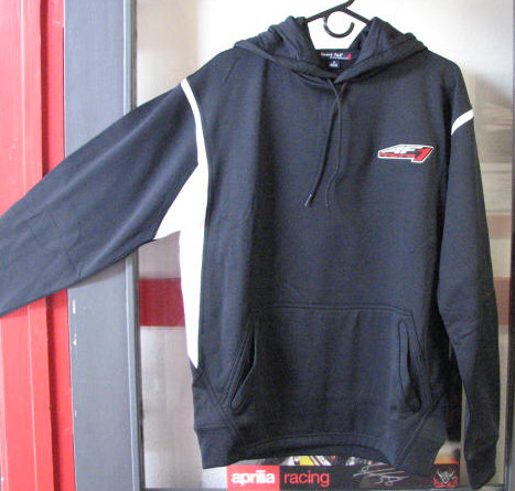 AF1 Racing Sport-Tek Black Hooded Sweater