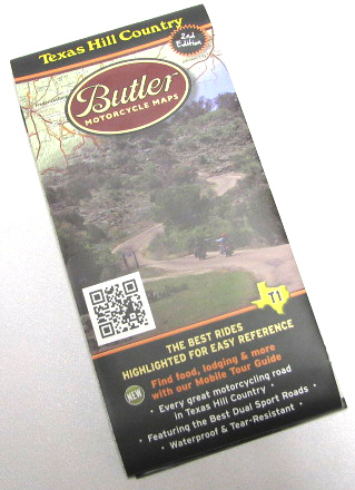 Butler Maps Vinyl Texas Hill County Guide Map