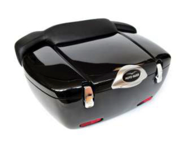 Moto Guzzi 65L Luxury Top Box, Red -CM262805
