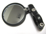 CRG Blindsight Bar End Mirror, BLK 2.25 Dia