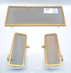 Cox Racing Group Radiator Guards, Gold