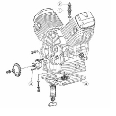 OEM Moto Guzzi Engine Manual '19-'20 V85 TT