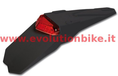 Circuit Taillight & Fender Black with Red Light
