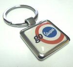 Vespa Accessories Metal Key Ring - Go Vespa