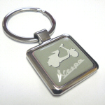 Vespa Accessories Metal Key Ring - Green