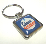 Vespa Accessories Metal Key Ring - Servizio