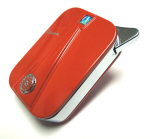 Vespa Metal Lighter - Red