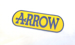 Arrow Heat Resistant Decal 5 x 2.25 Inches