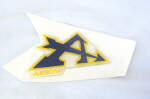 Arrow RH MX Resin Decal 3 x 2.75 inch