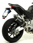 Arrow Dark Series Aluminum Slip on Exhaust For V4