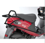 Prima Rear Fairing Protector (Black); Buddy