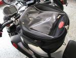 OEM Moto Guzzi Tank Bag And Mount For Griso