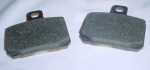 Rear Brake Pads Pair GU31654681