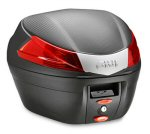 Givi MonoLock Top Box, Matte Black -34 Ltr -B340NA