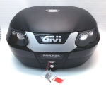 Givi MonoKEY Top Box, Matte Black -55 Liter -E55NT