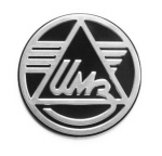 Ural Logo Badge 28mm - IMZ-8.101-08297