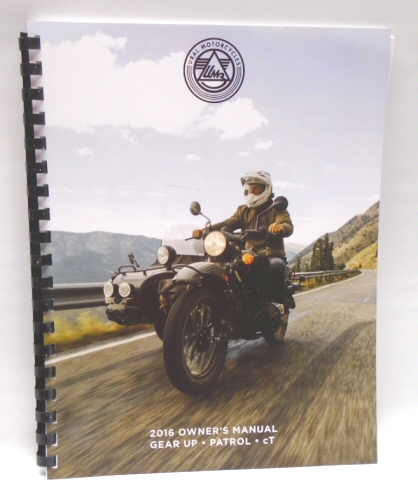 IMZ Ural Owner's Manual MY2016