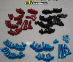 Lightech Anod Aluminum Fairing Screw Kit DD750