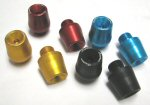 Lightech Anodized Bar End Weights -Pair