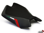 LuiMoto Seat Cover, Black Stitching