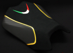 LuiMoto Seat Cover For '11-'15 Tuono V4 - Yellow