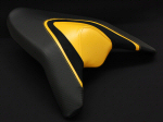 LuiMoto Passenger Seat Cover For Tuono V4 -Yellow